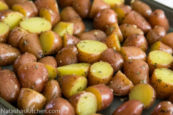 Oven Roasted Baby Potatoes  Oven Roasted Red Potatoes Recipe — Dishmaps