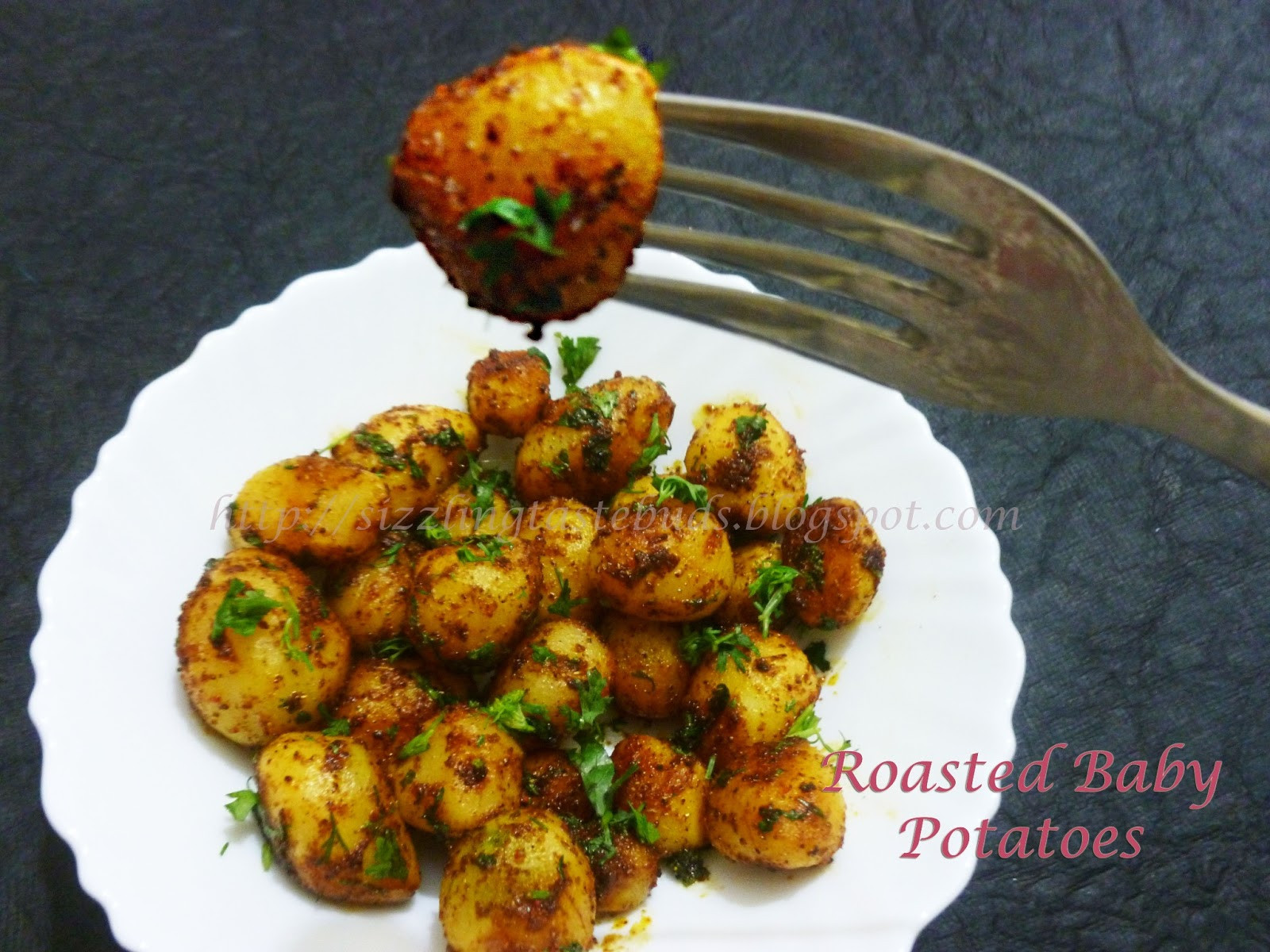 Oven Roasted Baby Potatoes  Home Made Recipes Roasted Baby Potatoes