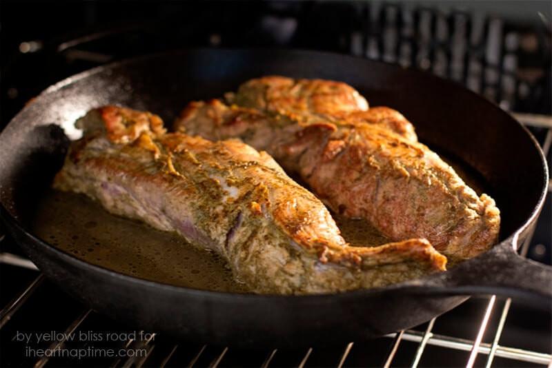 Oven Roasted Pork Tenderloin  Pan Roasted Herbed Pork Tenderloin I ♥ naptime