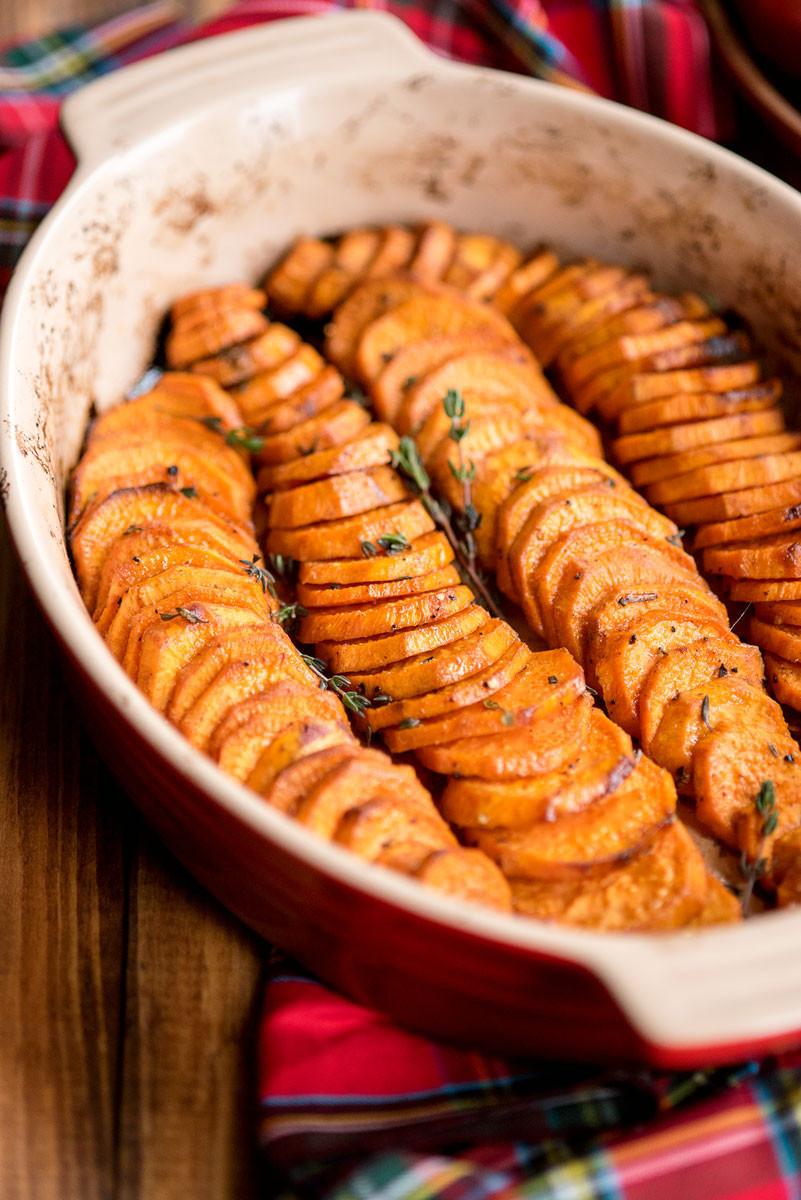 Oven Roasted Sweet Potatoes  Healthy Oven Baked Sweet Potatoes A Side of Sweet