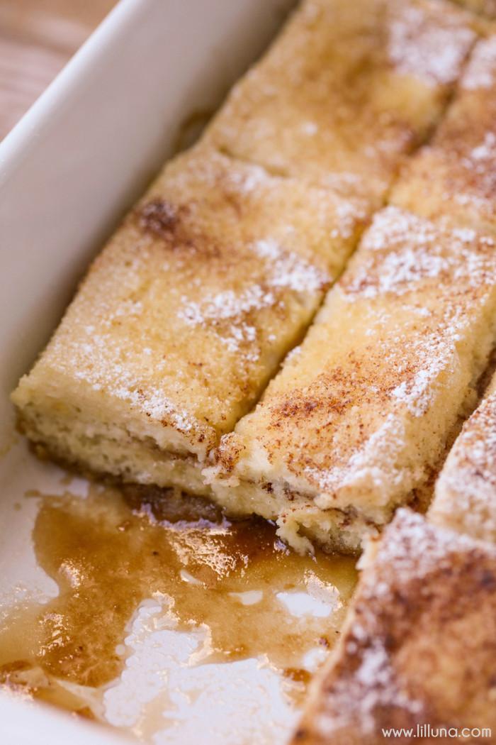 Overnight French Toast Casserole Recipe  Overnight French Toast Bake Lil Luna