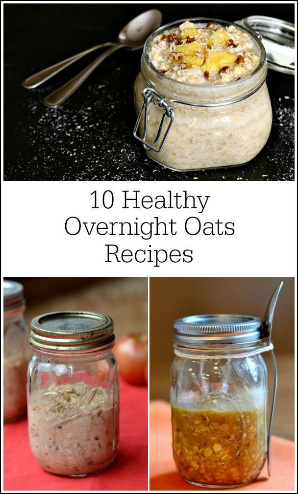 Overnight Oats Healthy  100 best images about Healthy Overnight Oats on Pinterest