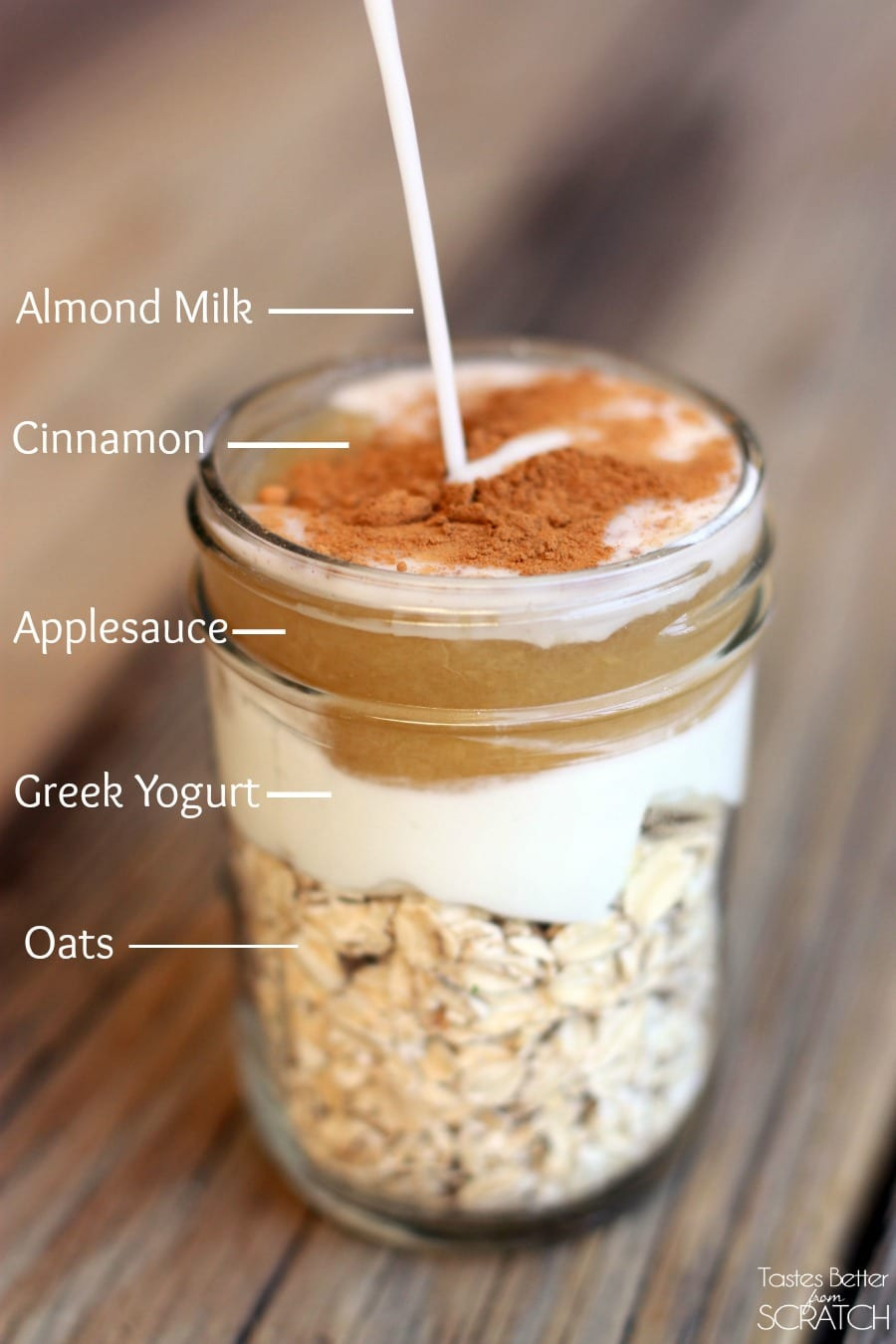 Overnight Oats Healthy  Easy Overnight Oatmeal Recipe Living Vazzy