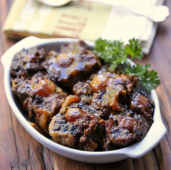 Oxtail Stew Recipe  Oxtail Stew Slow Cooker Recipe