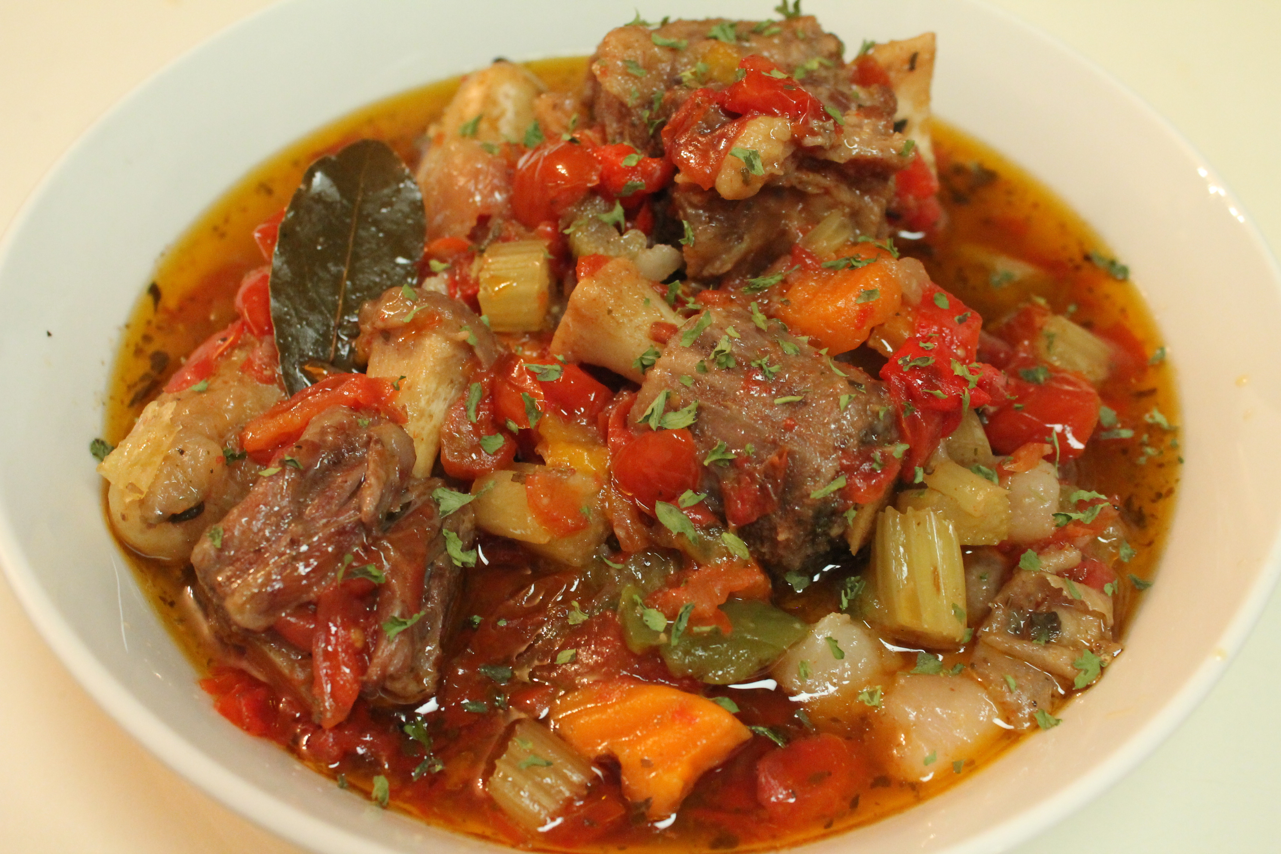 Oxtail Stew Slow Cooker  oxtail stew recipe slow cooker