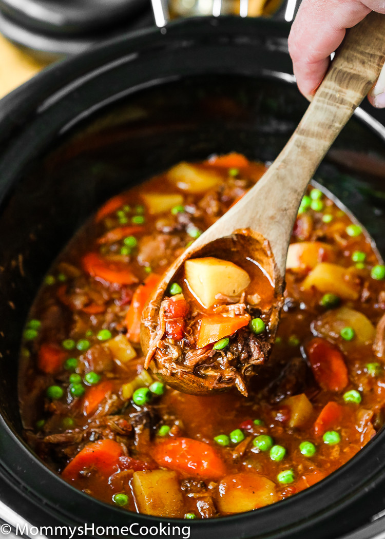 Oxtail Stew Slow Cooker  Slow Cooker Oxtail Stew Mommy s Home Cooking