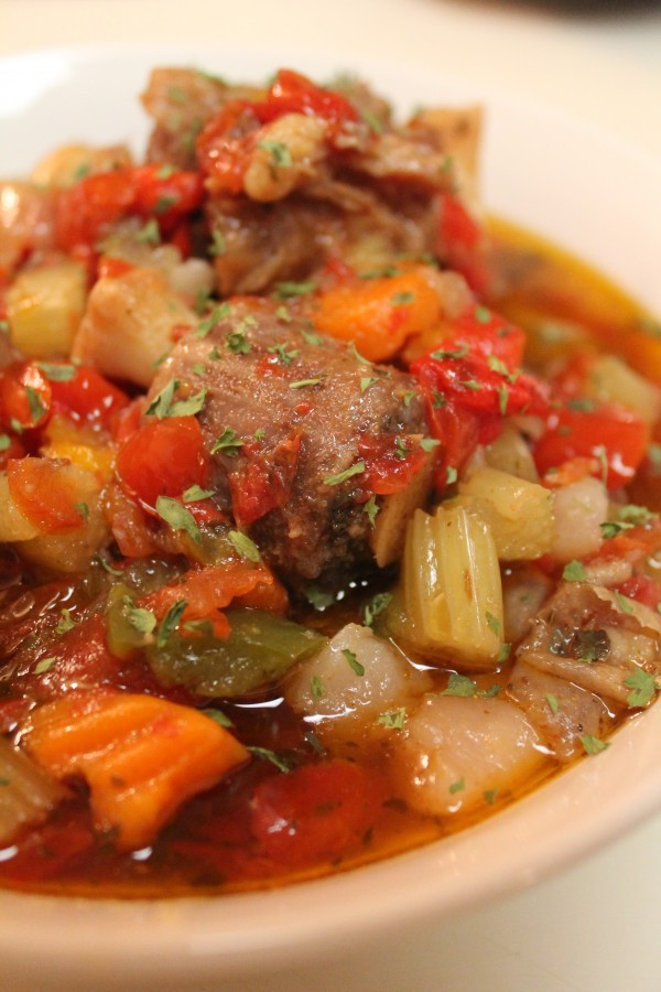 Oxtail Stew Slow Cooker  Slow Cooked Oxtail Stew Recipe