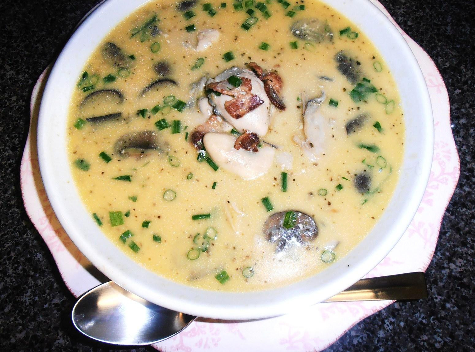 Oyster Stew Recipes  Oh So Good Oyster Bacon & Mushroom Stew Recipe