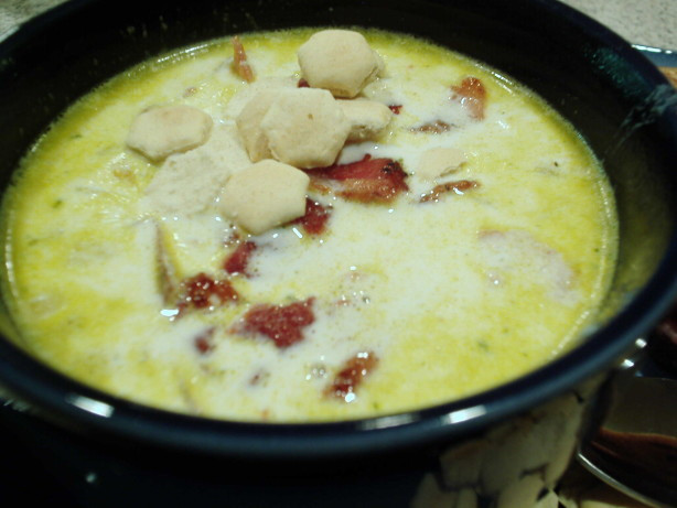 Oyster Stew Recipes  Petite Smoked Oyster Stew W Bacon Potatoes And ions