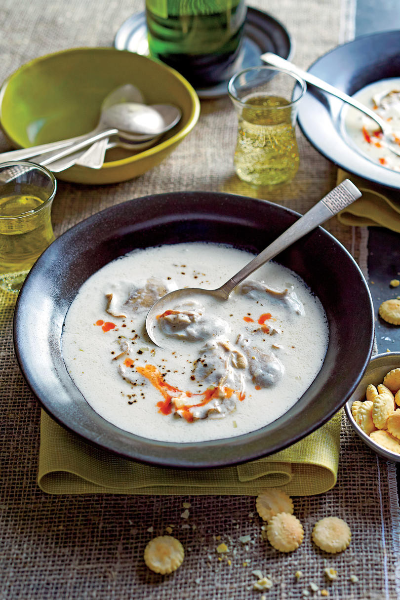 Oyster Stew Recipes  South s Best Oyster Recipes Southern Living