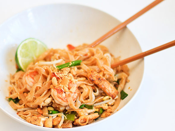 Pad Thai Noodles  Pad Thai Noodles With Step by Step Wishful Chef