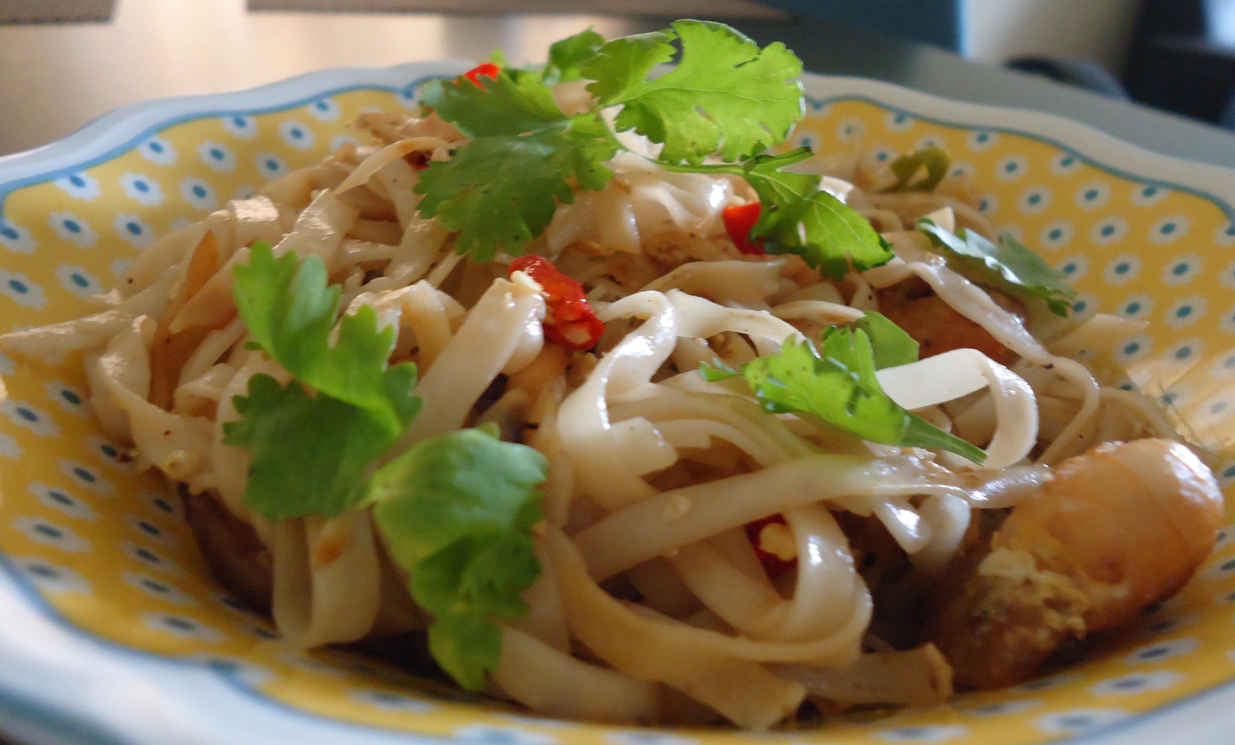 Pad Thai Noodles  Pad Thai Noodles Easy Thai Cooking Part 1 – Chattering Kitchen
