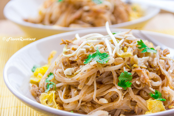 Pad Thai Noodles  Chicken Pad Thai Noodles Flavor Quotient