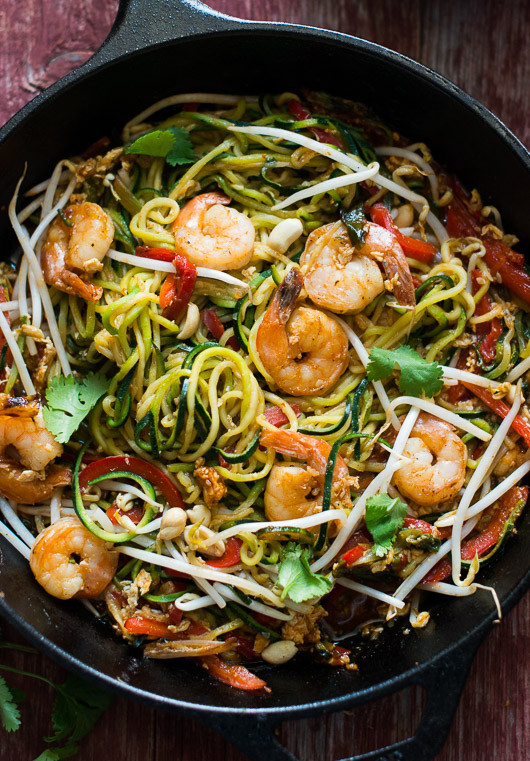 Pad Thai Noodles  Easy and Healthy Ve able Pad Thai Recipe