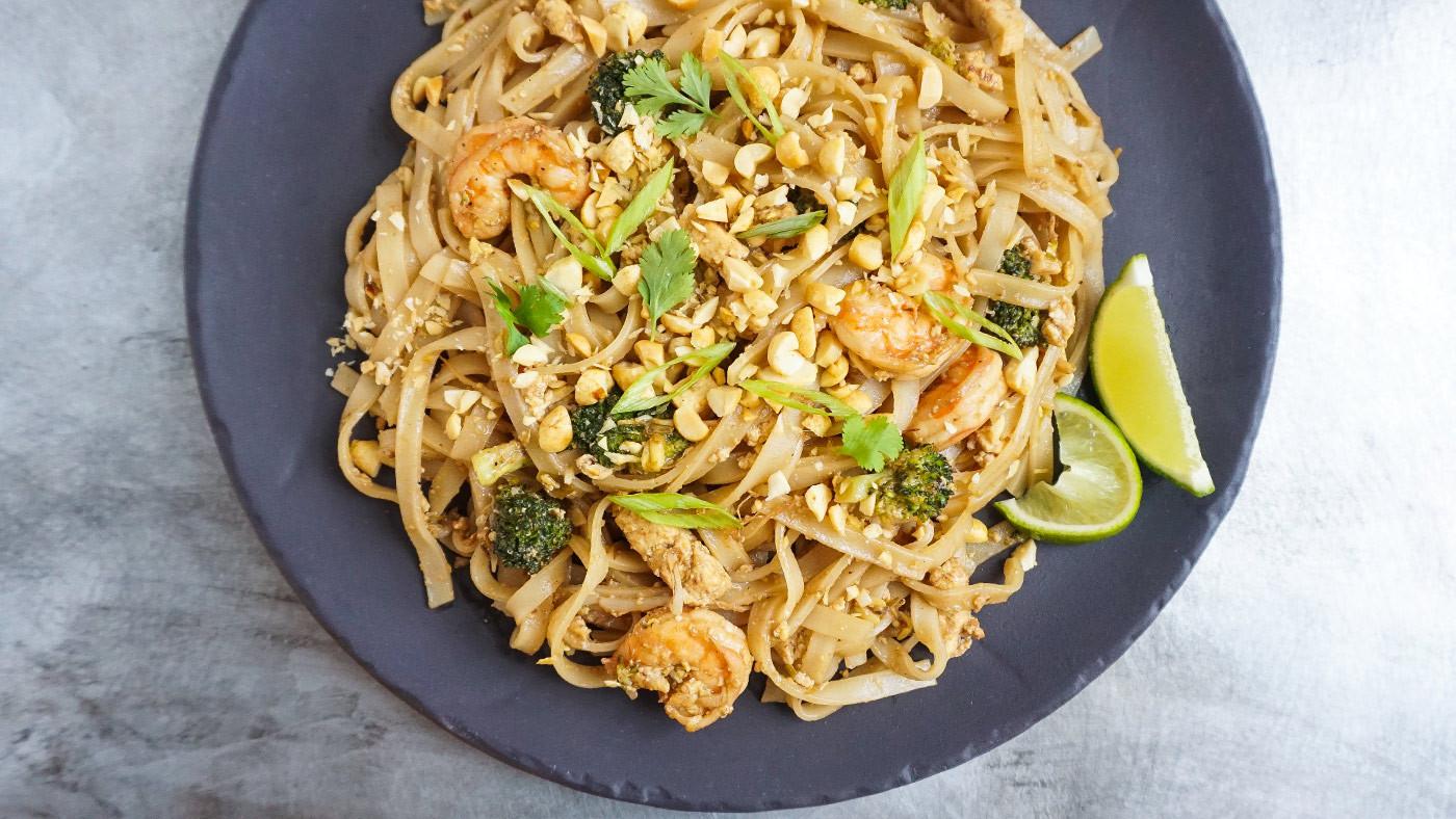Pad Thai Noodles  Shrimp Pad Thai Recipe
