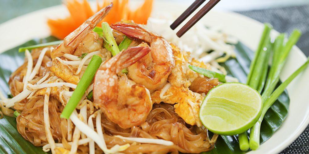 Pad Thai On Grand  Pad thaï