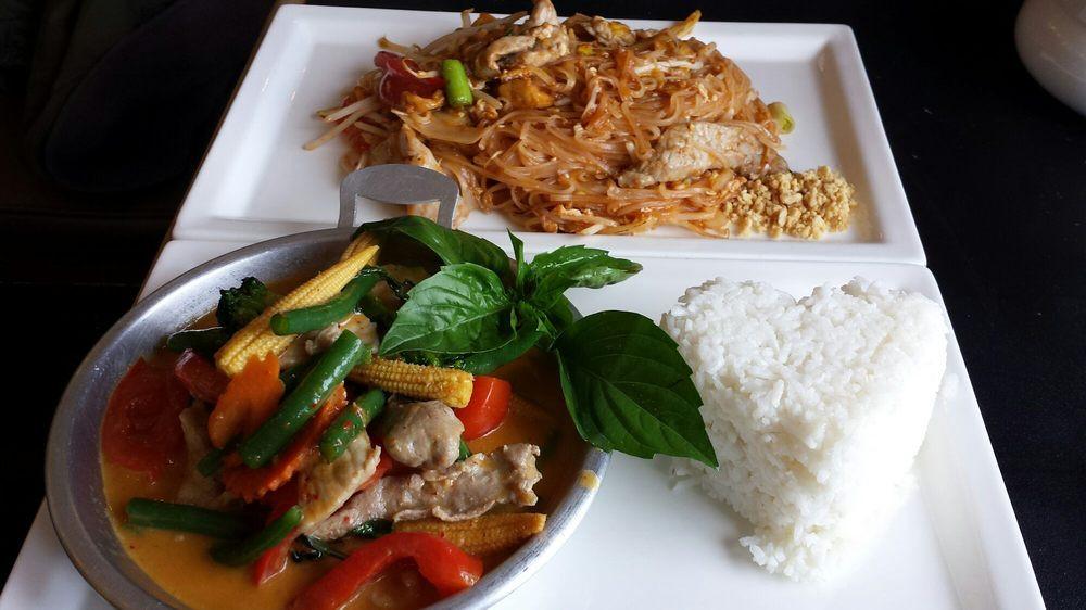 Pad Thai Quincy  Pork Pad Thai & Pork Panang Curry Yelp