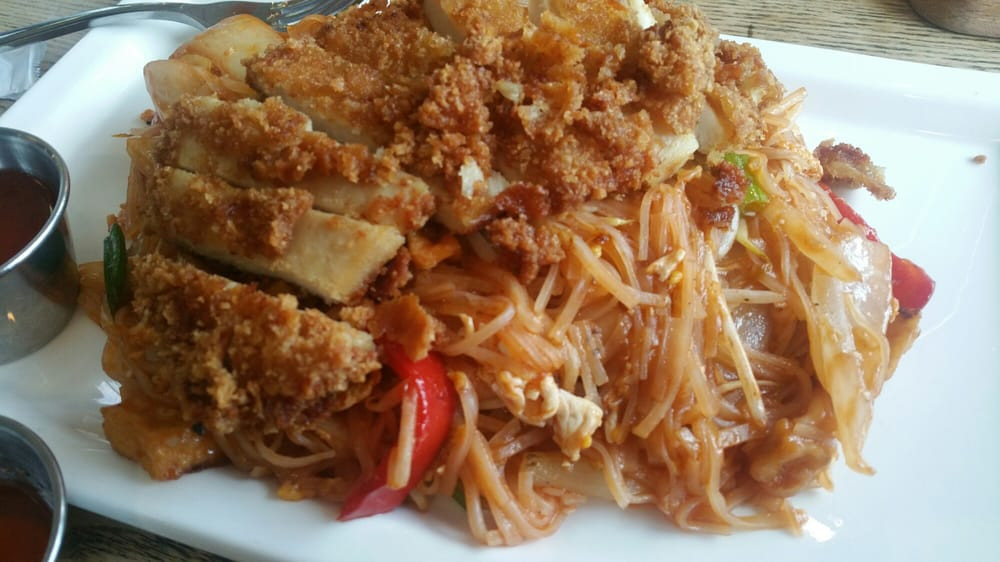 Pad Thai Quincy  Crispy chicken pad thai Yelp