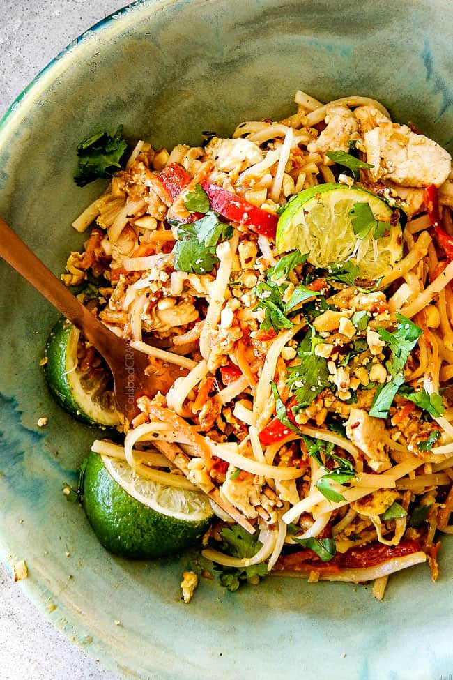 Pad Thai Sauce Recipe  BEST EVER Chicken Pad Thai Video with Pantry Friendly