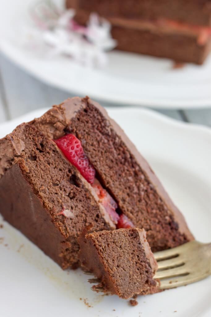 Paleo Birthday Cake  Paleo Chocolate Birthday Cake with Chocolate Frosting