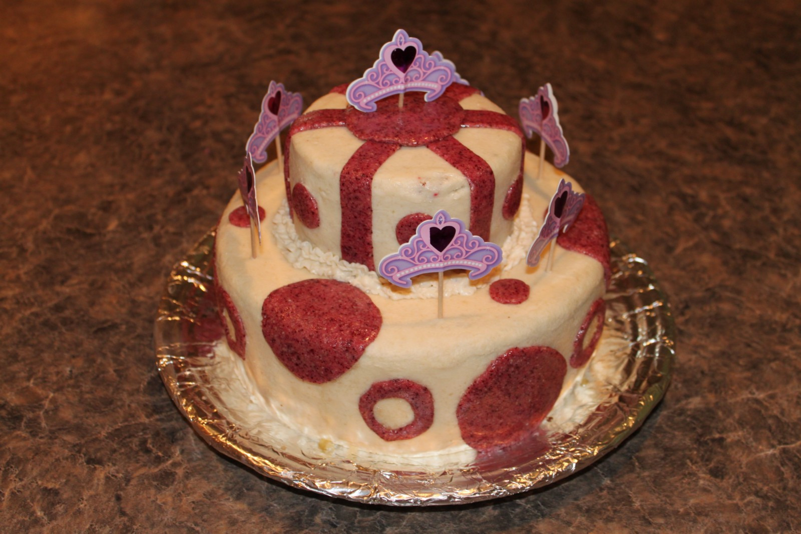 Paleo Birthday Cake  Princess Party Birthday Cake