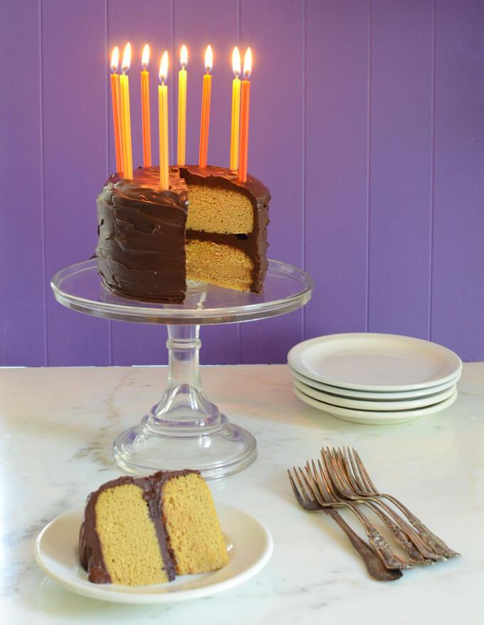 Paleo Birthday Cake  Paleo Vanilla Birthday Cake
