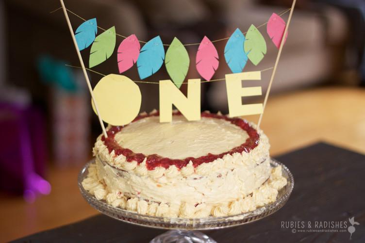 Paleo Birthday Cake  Coconut Flour Birthday Cake with Maple Buttercream