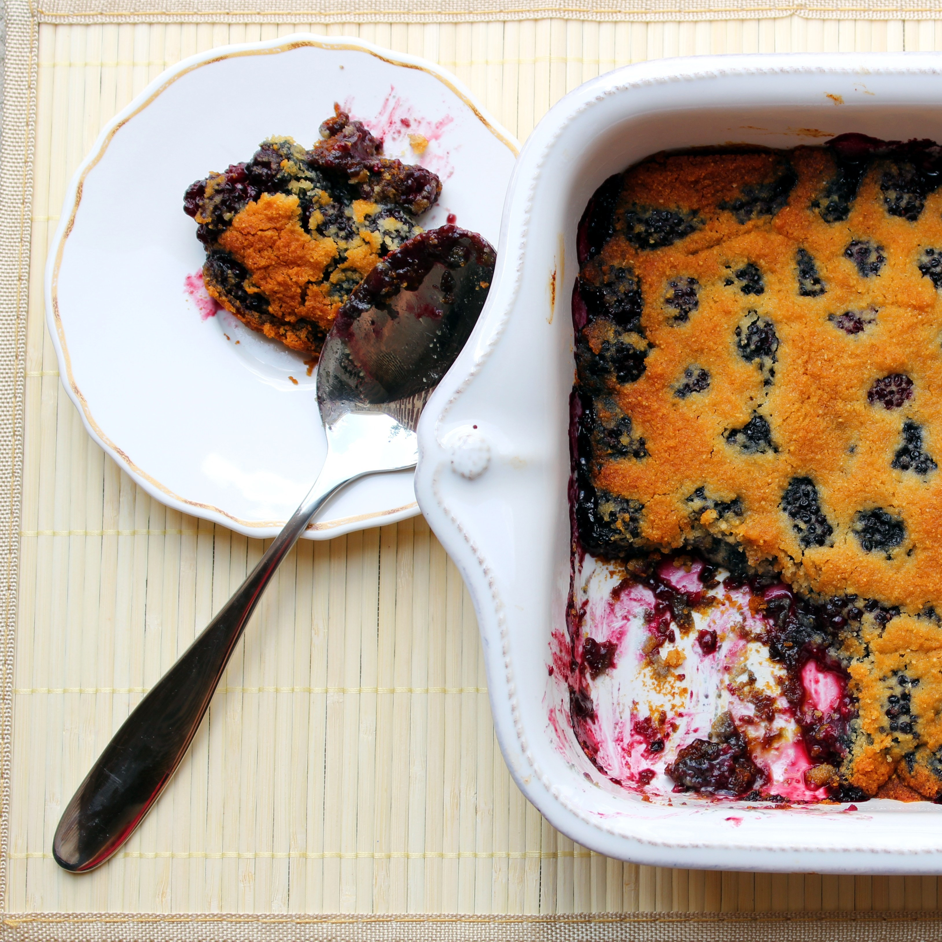 Paleo Blueberry Cobbler  AIP Blackberry Cobbler anyone He Won t Know It s Paleo
