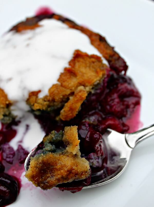Paleo Blueberry Cobbler  Berry Cobbler Grain Dairy Nut Free Primally Inspired