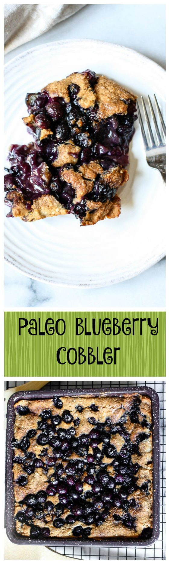 Paleo Blueberry Cobbler  Paleo Blueberry Cobbler Gluten Free Natural Holistic Life