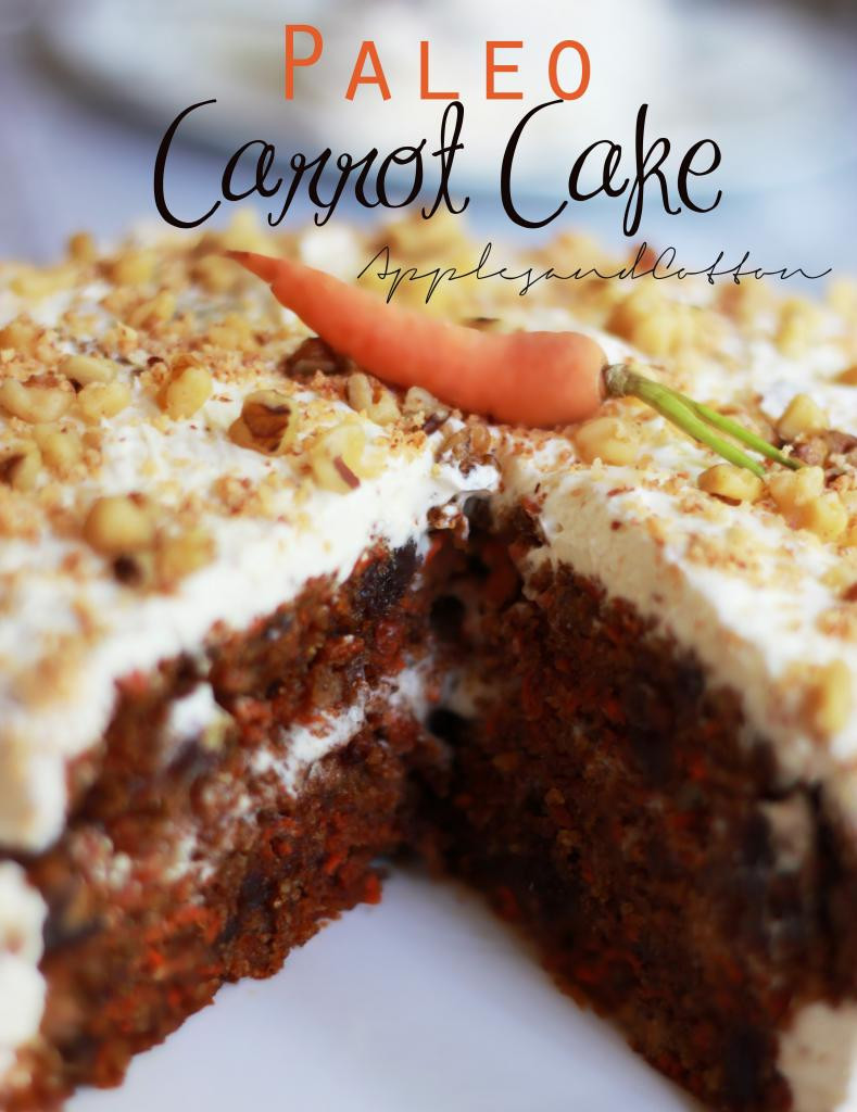 Paleo Cake Recipe  Apples and Cotton Paleo Carrot Cake