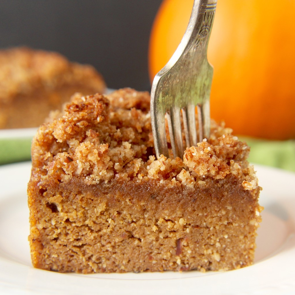 Paleo Cake Recipe  Paleo Pumpkin Coffee Cake Jay s Baking Me Crazy