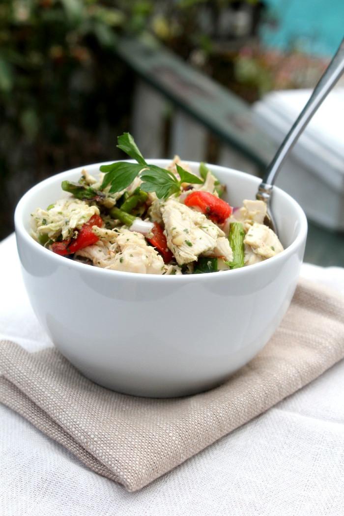 Paleo Chicken Salad  Paleo Chicken Salad with Fresh Herb Dressing Bravo For Paleo