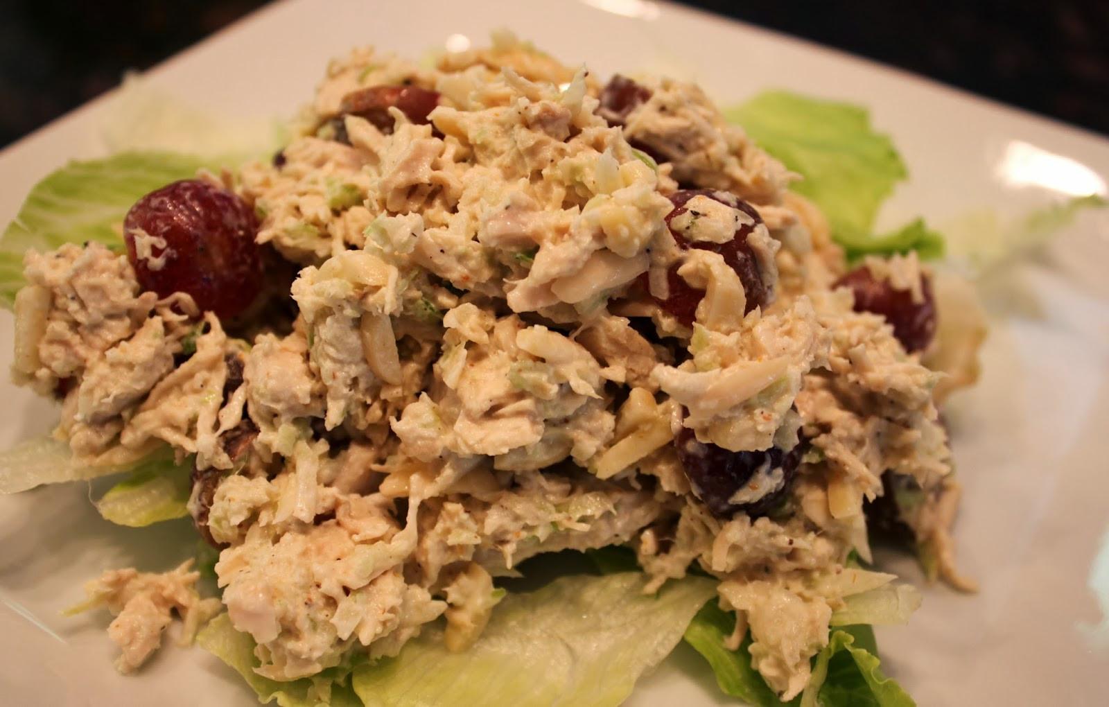 Paleo Chicken Salad  Kelly s Healthified Kitchen Paleo Chicken Salad with