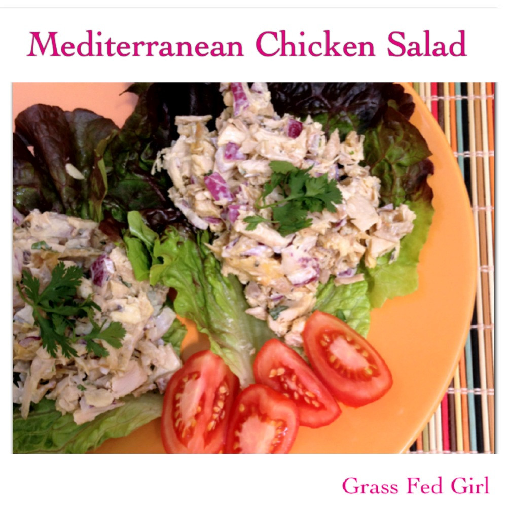 Paleo Chicken Salad  Mediterranean Paleo Chicken Salad SCD Gaps
