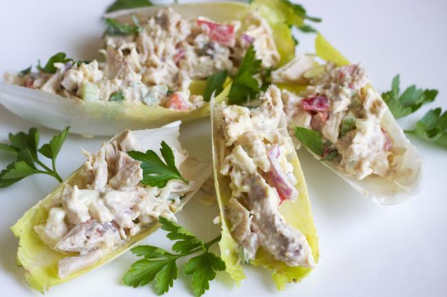 Paleo Chicken Salad  Paleo Chicken Salad Boats