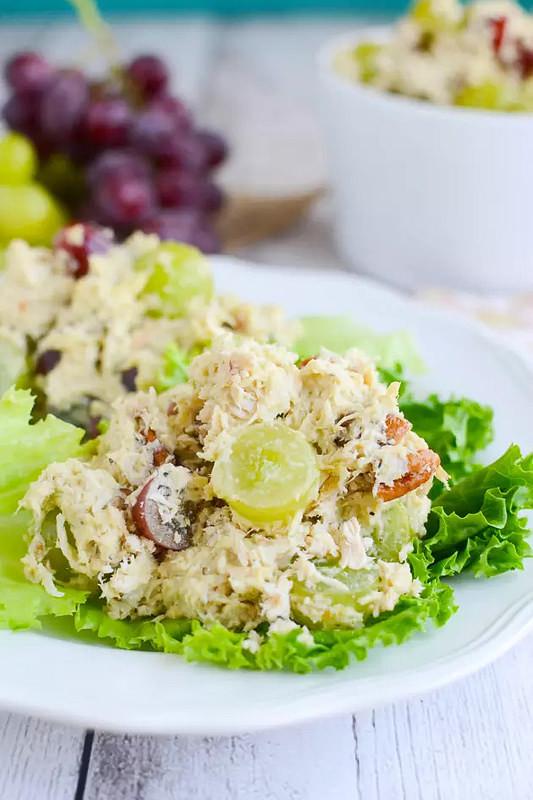 Paleo Chicken Salad  Paleo Chicken Salad Fake Ginger