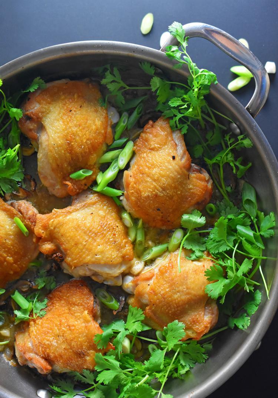 Paleo Chicken Thighs  Cantonese Crispy Chicken Thighs Nom Nom Paleo