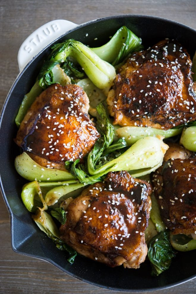 Paleo Chicken Thighs  Paleo Teriyaki Chicken Thighs with Bok Choy Fed & Fit