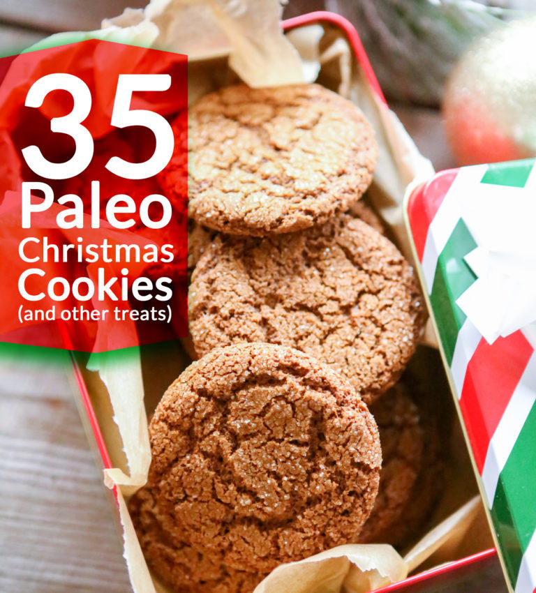 Paleo Christmas Cookies  35 Paleo Christmas Cookie Recipes and other treats