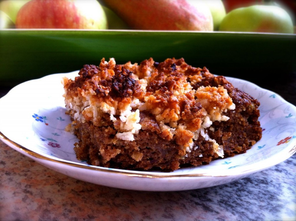 Paleo Coffee Cake  Paleo Coffee Cake with Crumb Topping FemFusion Fitness