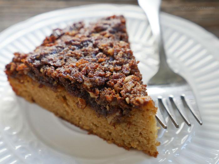 Paleo Coffee Cake  Cinnamon Coffee Cake My Heart Beets