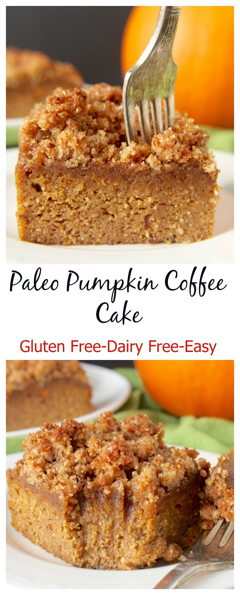 Paleo Coffee Cake  Paleo Pumpkin Coffee Cake Jay s Baking Me Crazy