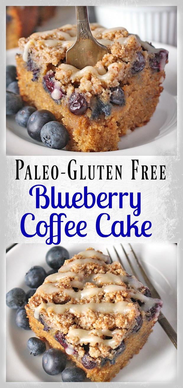 Paleo Coffee Cake  Paleo Blueberry Coffee Cake Jay s Baking Me Crazy