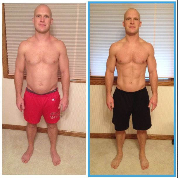 Paleo Diet Before And After  30 day paleo challenge before and after