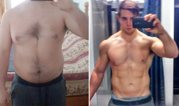 Paleo Diet Before And After  Weight loss Before after transformation pictures of man