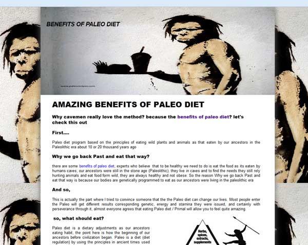 Paleo Diet Benefits  Benefits of paleo t