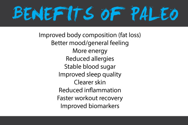 Paleo Diet Benefits  The Four Barrel Paleo Guide Four Barrel CrossFit