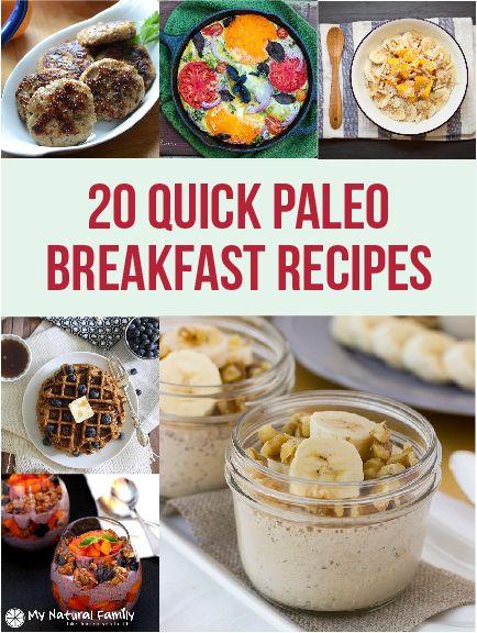 Paleo Diet Breakfast Ideas  14 best images about breakfast foods on Pinterest