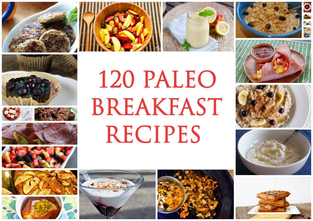 Paleo Diet Breakfast Recipes  120 Best Paleo Breakfast Recipes Paleo Zone Recipes